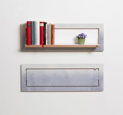 Fläpps Shelf 80x27-1 - Printed