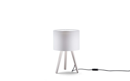 ash, white - lampshade, white