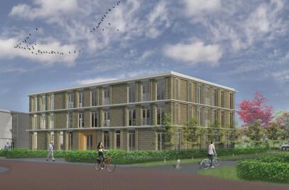 Nieuwbouw zorgaccomodatie Het Gastenhuis Zwolle