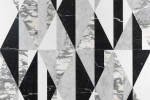 Tangram Chaplin marble wall and floor covering