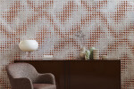 Luxury Champagne marble wall covering