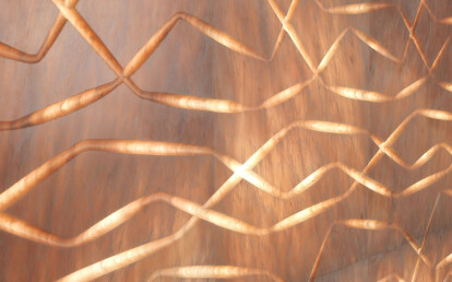 Vega backlit marble wall covering