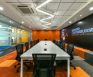 An ideal Meeting Room with the twist of vibrant colors
