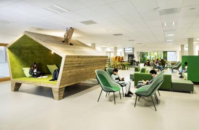 Lumion Amsterdam schoolinterieur