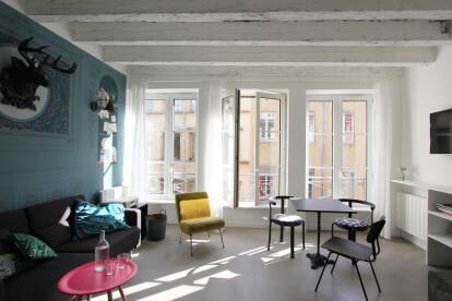"""Livingroom - Decor """"Vanités"""""""