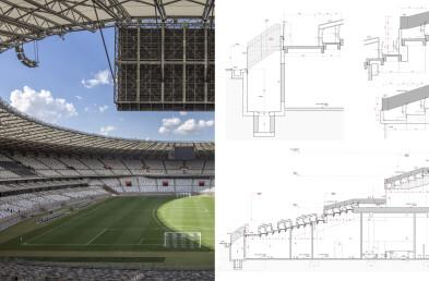 Mineirão Stadium Detail