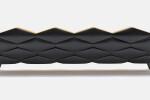 Hive Sofa in black coloured ash - back