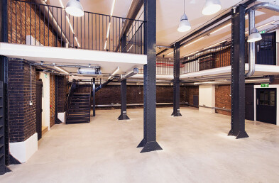 Zetland House Co-working Offices - Floor Constructions