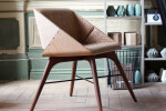 Nest Chair in Retro and Craft Cork Upholstery