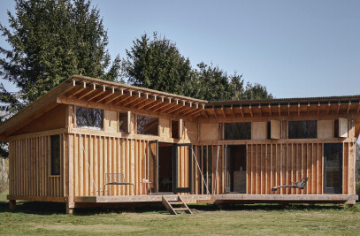 Uncovered Cabin