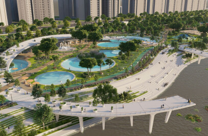 Jamsil Hangang Park Natural Swimming Pools