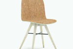 Seed Chair in Ash and Craft Cork Upholstery