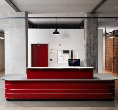 Classic Line reception desk