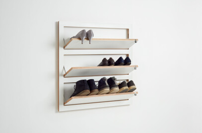 Fläpps Shelf 80x80-3 Shoe Rack