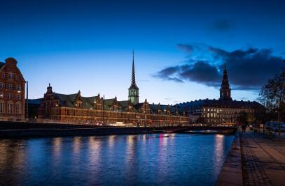 Urban lighting Copenhagen