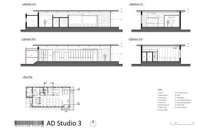 Studio 3 Sections