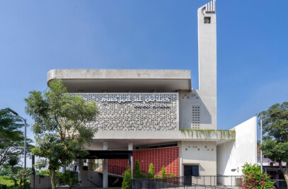 Honeycomb Mosque
