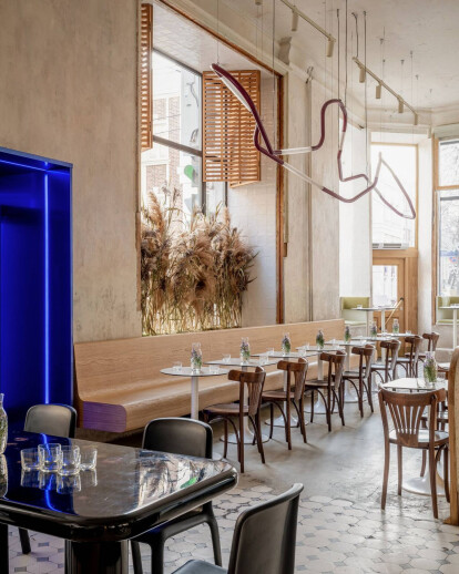 Moscow's Grechka Lab Bakery peels back layers to reveal an eclectic pre-revolutionary atmosphere