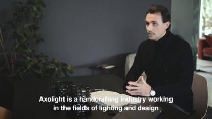Axolight - Giuseppe Scaturro presents Manto