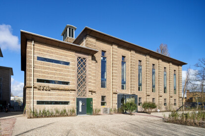 Former transformer building revived as a state of the art health care center