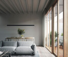 Living Room and Terrace Deck - Timber swing doors add charm and nostalgia that would suit the project and neighbourhood and make the experience of using them a pleasure.