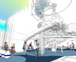 The design concept for the Dream Machine.
