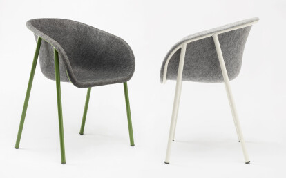 LJ 1 PET Felt Armchair by De Vorm