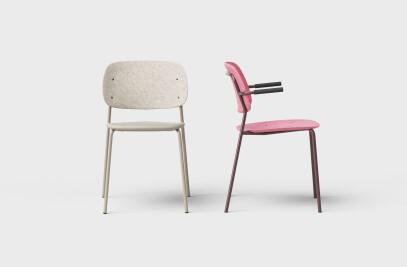 Hale PET Felt Stack Chair