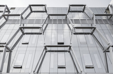 Quantum-Nano Centre Facade Detail