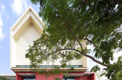Charoenpong Kindergarten Roof Detail
