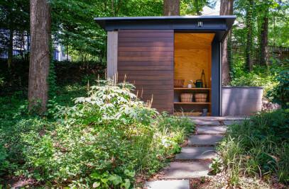 Tree House Shed