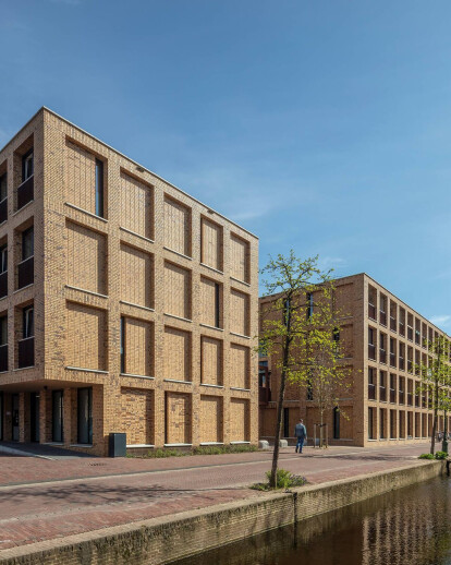 Apartments for young professionals - meelfabriek