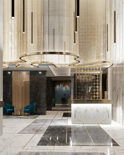 Hujra Contemporary Arabic Hotel Interior Design
