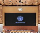 Room XIX of United Nation Palace of Geneva by Peia Associati