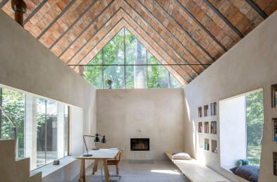 Brick roof detail