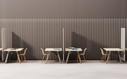 Big Lite Modular Table System by De Vorm