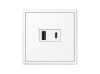 USB Charger USB-A/C LS 990 white