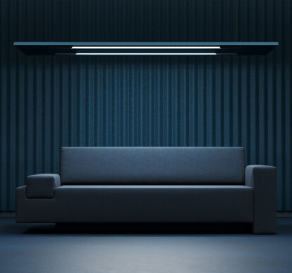 Mute Flow Floating Light Acoustic Panel