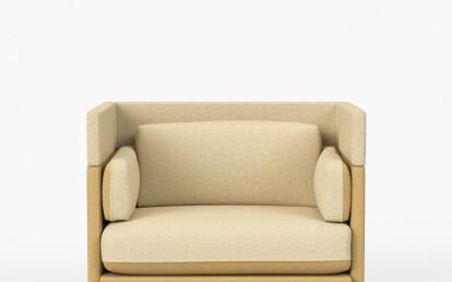 Arnhem Loveseat Modular Couch by De Vorm