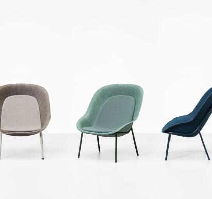 Nook PET Felt Lounge Chair