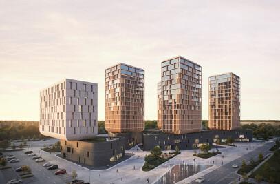 Tulip City - Astana 2017 World Expo Redevelopment