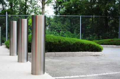 R-7311 Stainless Steel Bollard Cover