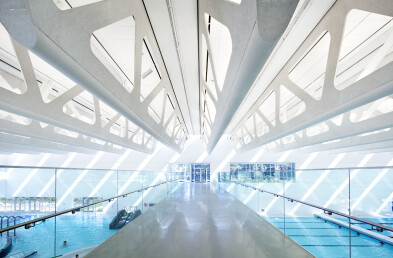 Aquatic Centre Truss Detail