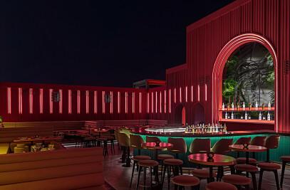 BAU rooftop lounge bar