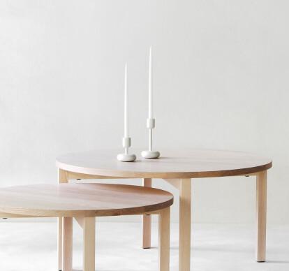 Periferia round coffee table