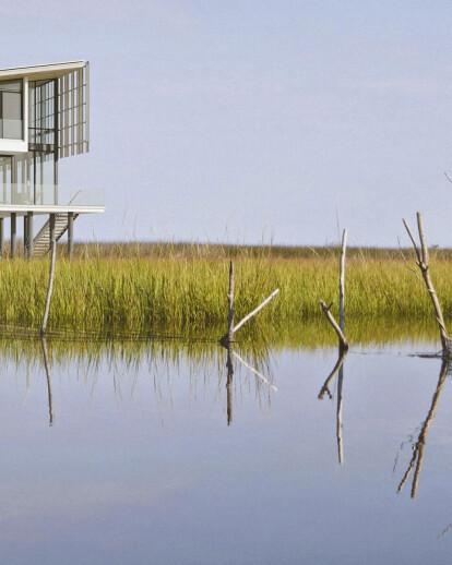 The Salt Box Residence