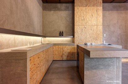 concrete kitchens by dade design