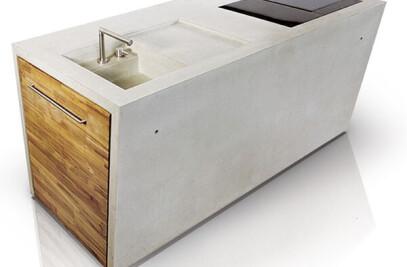 dade THE CONCRETE - concrete kitchen