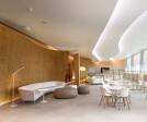 Lighting of Airport Platov. Business lounge