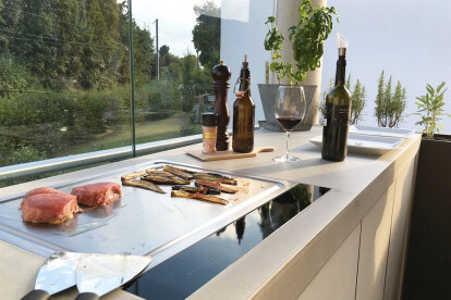 dade OUTDOOR KITCHENS - outdoor concrete kitchens